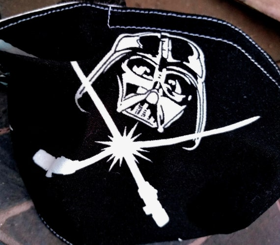 Star Wars Darth Vader Adjustable Washable Facemask with Nose wire