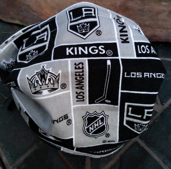 Los Angeles Kings Adjustable Handsewn Cotton Washable Face Mask with Nosewire