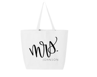 honeymoon bag etsy Air Pillow Shipping Bags jumbo bride tote honeymoon tote bride gift honeymoon just married bridal shower gift mrs tote bride bag honeymoon bag bride bag