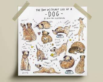 Secret Life of a Dog Print