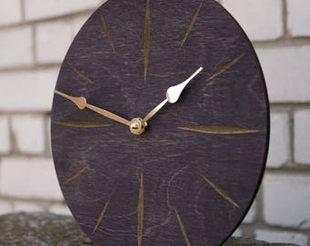Modern Clock,  Large Clock, Large Wall Clock, Wooden Wall Clock, Kitchen Clock, Dining Room Clock