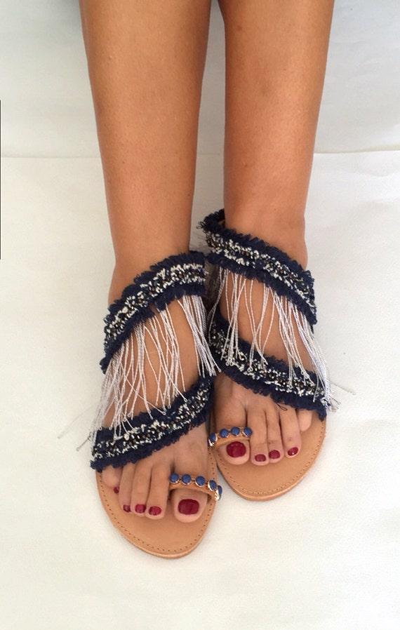 mer Sandals de '' Strappy '' sandales brise n8Agwxnfq1