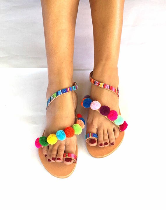 FREE Sandals Pom Worldwide Sandals Strappy