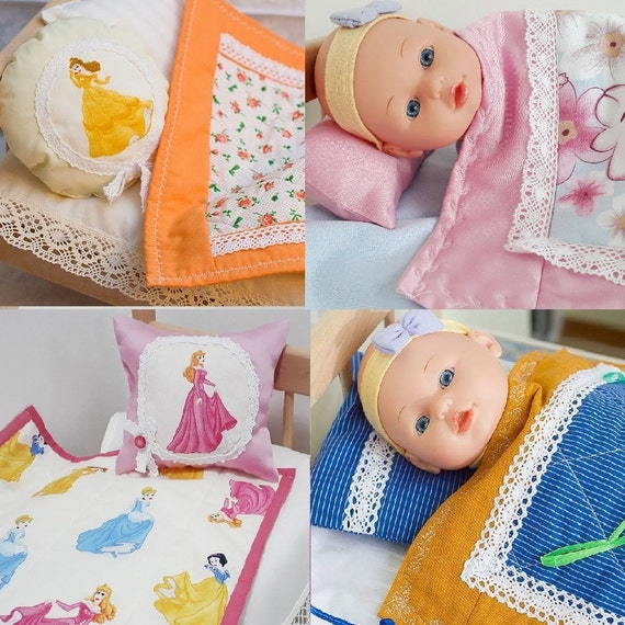 Baby Doll Mattress N Bedding Sets 15 38cm Cotton Lace Etsy
