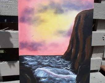Evening Seascape Painting