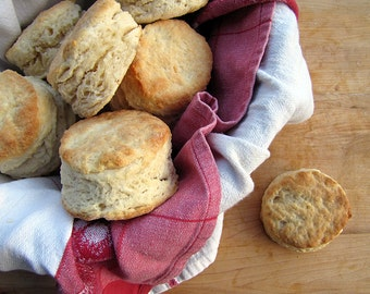 Biscuit of the Month Club, 3 Months, Southern Biscuits, Artisan Biscuits, Large, 1 Dozen, Hand-Crafted Bread, Bakery Biscuits, Food Gift