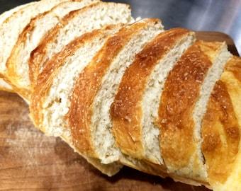 White Bread, Supper Bread, Dinner Bread, Holiday Dinner Bread, Yeast Bread, Hand-Crafted Bread