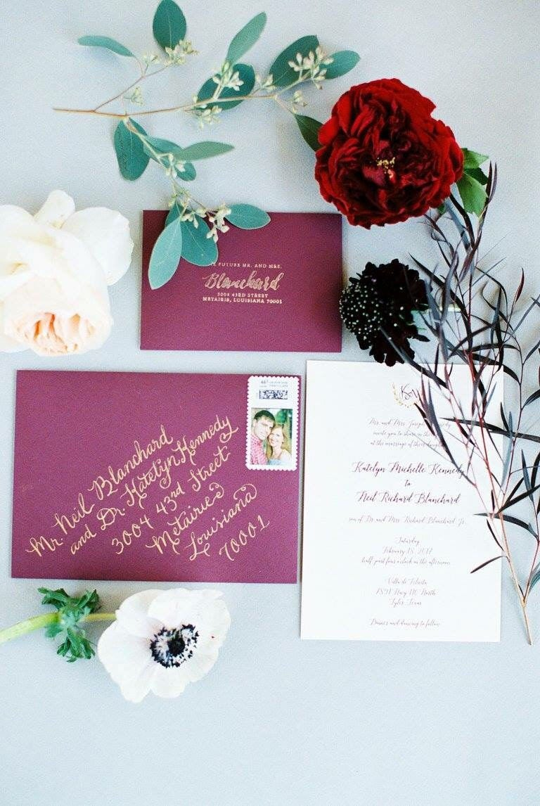 Wedding Calligraphy Envelopes Custom Handwritten Placecards