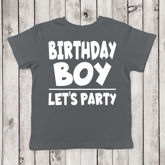 Birthday Boy Lets Party Shirt Its My Bro