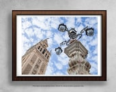 Spain photo, Seville photo, Spanish architecture ,Fine Art Photography Print, Spain Travel Photography, Andalusia, Colorful