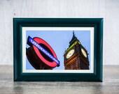 Big Ben, Westminster Underground, Fine art, Home decor, Room decor, England Art Print, Travel Fine Art Photograph, EnglishHome Decor,