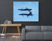 Blue Angels Fighter Plane, Jets, Fighter Jet Print, Navy, Blue Angels Photography,  Military Photography, Planes, Pilot Gift,  f-18 Hornet,
