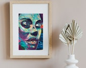 Miami Graffiti Photo Print, Fine Art Photography, Street Art, Modern Wall Art Print, Graffiti Art, Miami Print, Artist Gift for Her