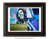 Miami Photography, Wynwood Graffiti Photo, Mural, Fine Art Photography Modern Wall Art Print, Art Photography Bob Marley, Street Art
