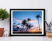 """Florida Photography, Florida print, Seaside, beach photography - """"Florida Sunset"""""""