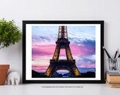 Eiffel Tower, Paris Photography, Paris Art Print,  Fine Art Photography, Paris Wall Art, Iconic Art Photography