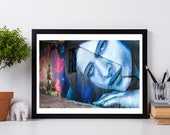 Miami Graffiti Photo Print, Street Art, Fine Art Photography, Miami FL Photography, Modern Wall Decor, Fine Art Photography
