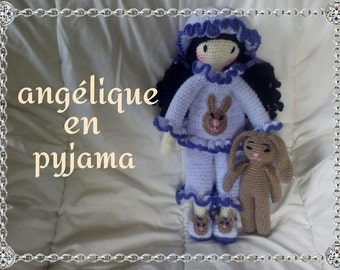 """HOLDING """"PAJAMAS"""" for the angelic doll tutorial"""