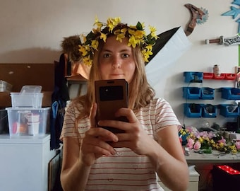 Flower Crown fairy headpiece