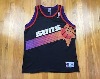 Vintage Champion Phoenix Suns Jersey 90s Phoenix Suns blank jersey vintage  phoenix suns size 44 basketball nba arizona booker ayton jackson 79a8c9bb3