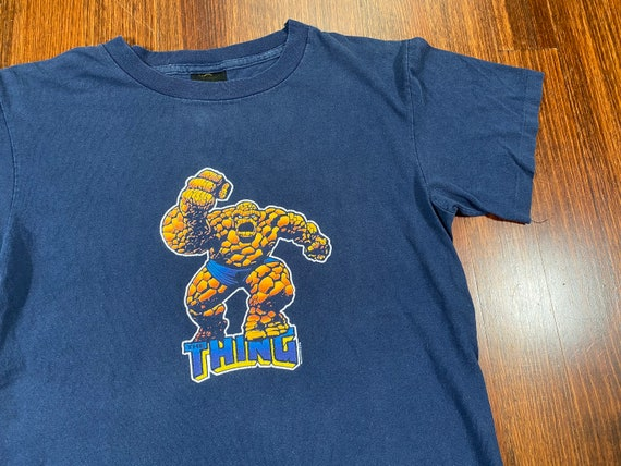 Vintage The Thing shirt 2000 the thing marvel shir