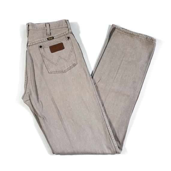 Vintage Wrangler Jeans 90s Wrangler Denim wrangle… - image 1
