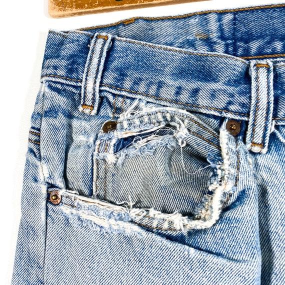 Vintage Levis Orange Tab Jeans 90s levis jeans vi… - image 6