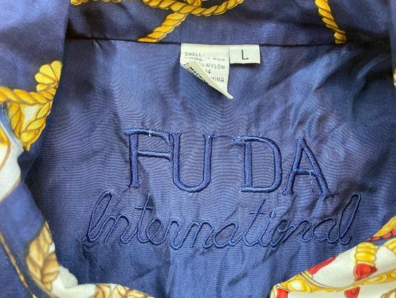 Vintage Fuda Silk Jacket 80s silk jacket vintage … - image 5