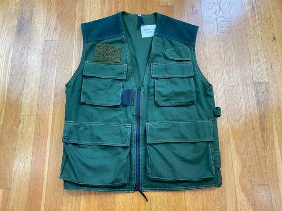 Vintage fishing vest 90s fishing vest 90s fly fish