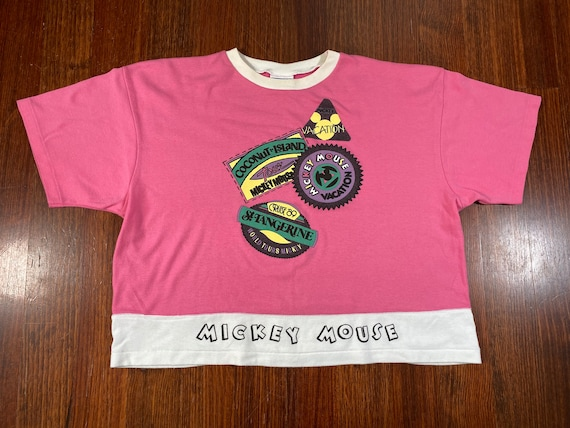 Vintage Mickey Mouse shirt 80s mickey mouse tshirt