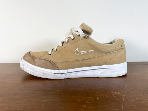 Vintage Nike GTS Canvas Tennis Shoes 1997 nike sho
