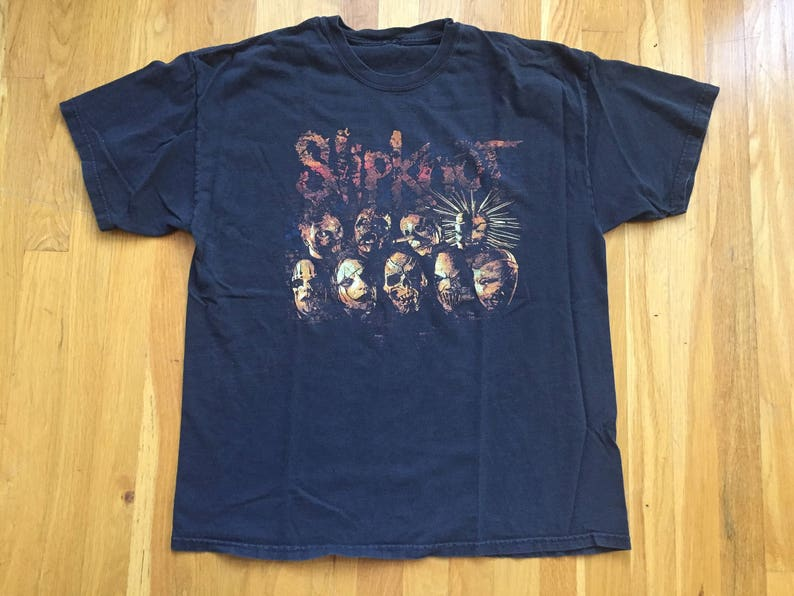 d6e67c44e1fa Vintage Slipknot shirt 90s slipknot t shirt rock heavy metal