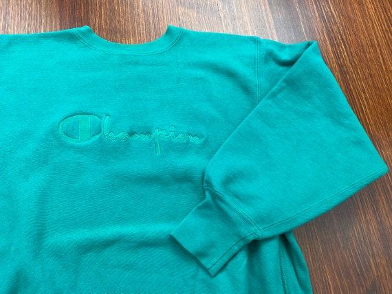 Vintage Reverse Weave Champion sweatshirt 90s cham