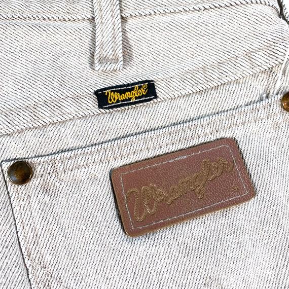 Vintage Wrangler Jeans 90s Wrangler Denim wrangle… - image 10