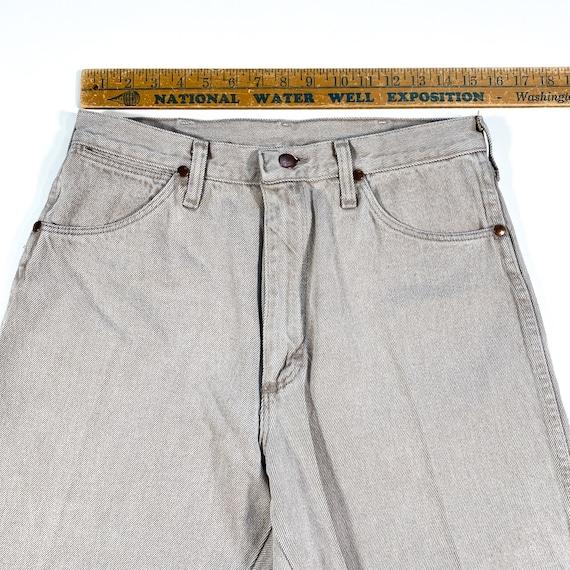 Vintage Wrangler Jeans 90s Wrangler Denim wrangle… - image 5