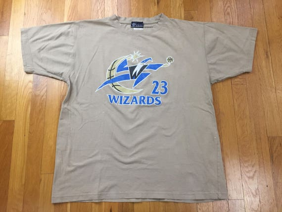Vintage Bootleg adidas Washington Wizards Jordan tshirt size  593b7ab0e