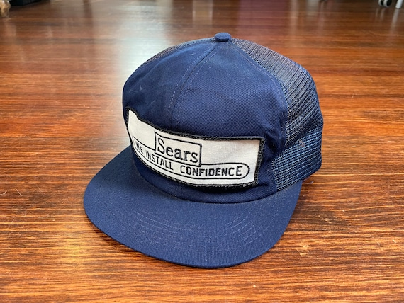 Vintage Sears trucker hat 80s sears department sto