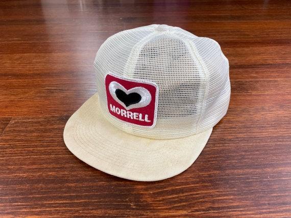 Vintage John Morrell hat 80s morrell hat vintage m