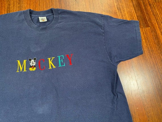 Vintage Mickey Mouse shirt 90s Mickey Mouse tshirt