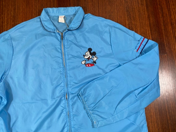 Vintage Mickey Mouse jacket 70s mickey windbreaker