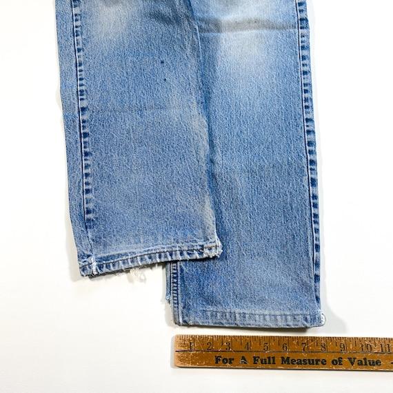 Vintage Levis Orange Tab Jeans 90s levis jeans vi… - image 3