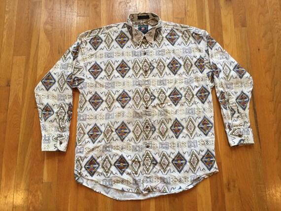 Plus Size Chaps® Long Sleeve Blouse