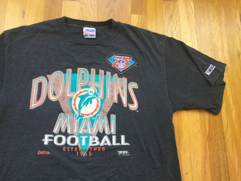 1465480f Vintage Miami Dolphins shirt 90s miami dolphins striped shirt 1994 miami  stripes stripe minimal retro florida trench football NFL tannehill