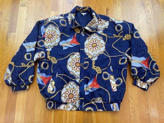 Vintage Fuda Silk Jacket 80s silk jacket vintage … - image 1