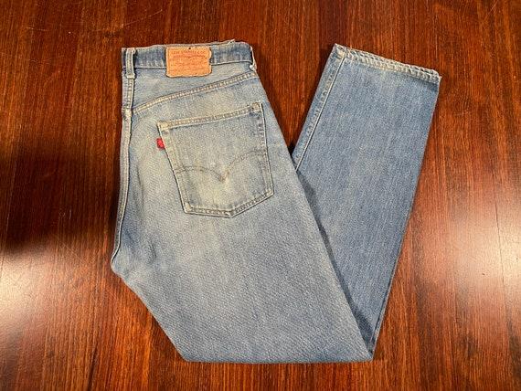 Vintage Levis 505XX Denim 70s levis 505 jeans vint
