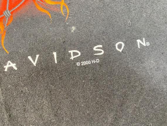 Vintage Harley Davidson shirt 90s harley davidson… - image 4