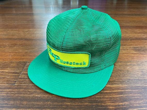 Vintage Livestock trucker hat 80s made in usa truc