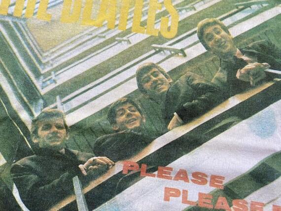 Vintage Beatles Please Please Me shirt 90s the be… - image 5