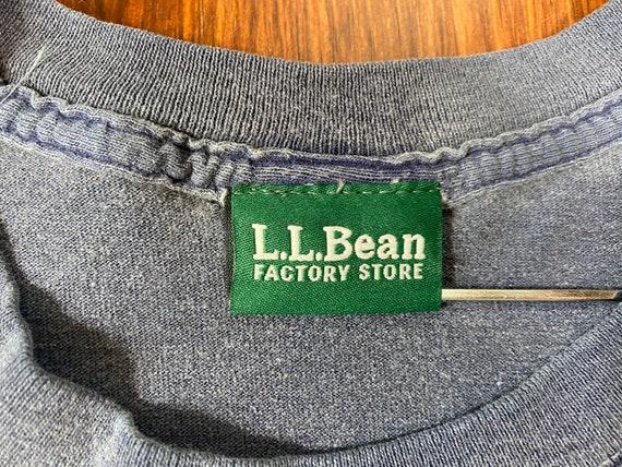 Vintage LL Bean shirt 90s ll bean tshirt ll bean … - image 4