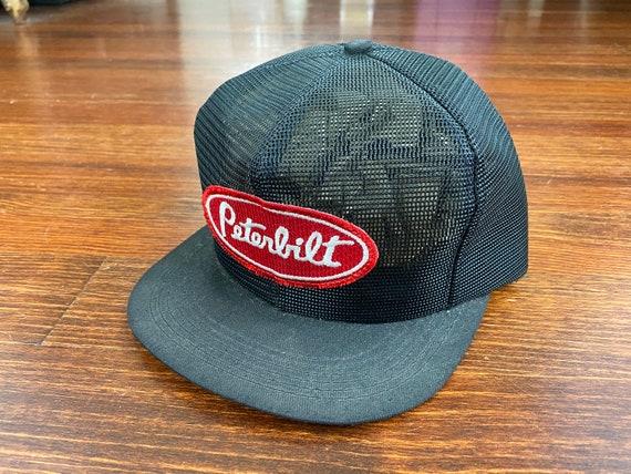 Vintage Peterbilt trucker hat 80s Peterbilt hat vi